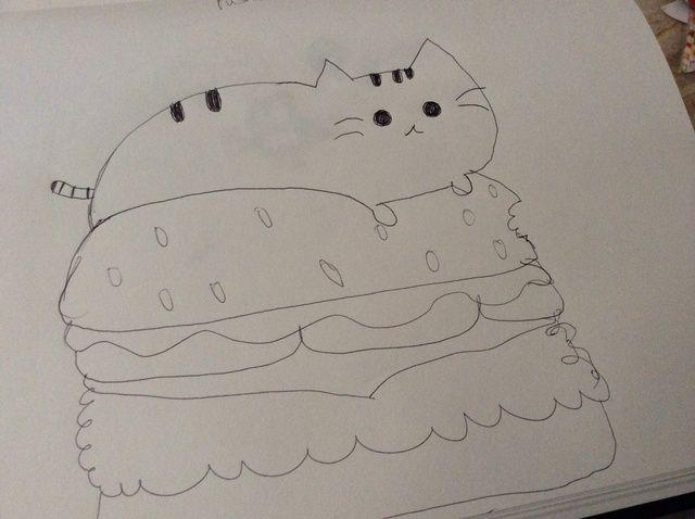 Cómo Cómo dibujar pusheen el gato?
