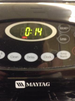 Temporizador Ajuste durante 14 minutos