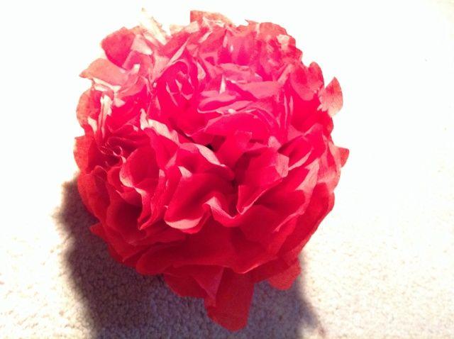Cómo Cómo hacer flores de papel de tejido