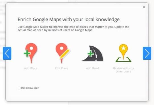 Utilice Google Map Maker. Se trata de Google's wiki mapping interface. Any user can suggests edits to your listing, so make sure your information is accurate. Ensure you only have one listing here.