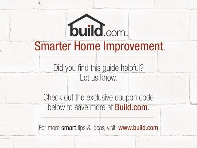 Ahorre 4% en su próxima compra en Build.com con el código de descuento exclusivo: BUILDSNAP