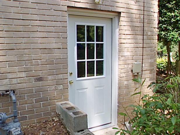 Blanco Puerta Exterior y Brick House Exterior