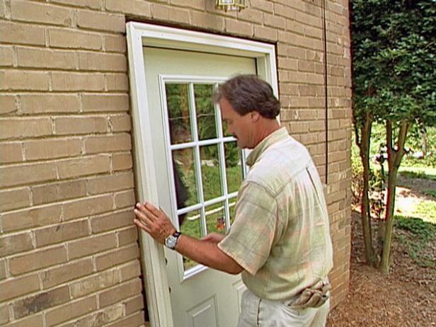 Instale Pre-Hung Puerta Exterior