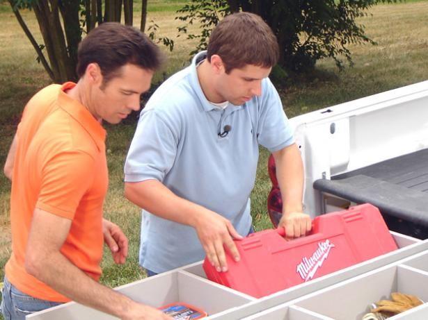Fotografía - Cómo instalar un sistema de almacenamiento de caja de la camioneta