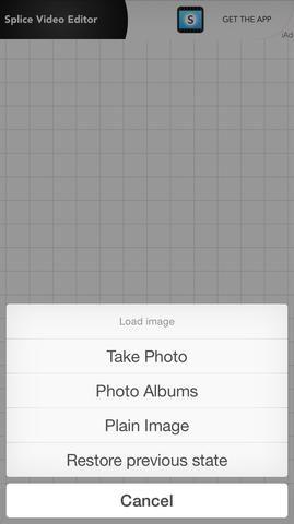 A continuación, usted puede cargar su propia imagen o un fondo sólido. Agregue tantos cuadros de texto como desee. Se le solicitará que seleccione entre sus fuentes o el suyo propio.