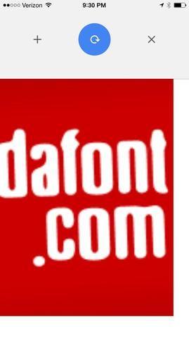 Pero tal vez usted quiere un tipo de letra muy especial. En el teléfono, encontrar dafont.com de su navegador.