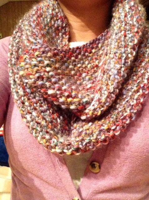 A tejer una bufanda Infinity