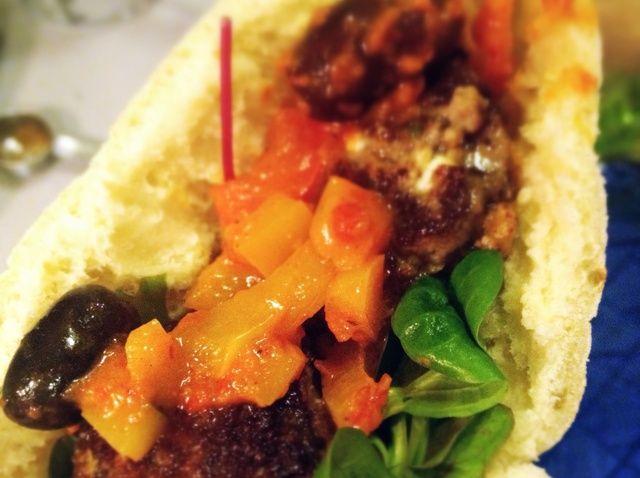 Cómo Empanadas de limón y queso Feta con picante Receta verduras