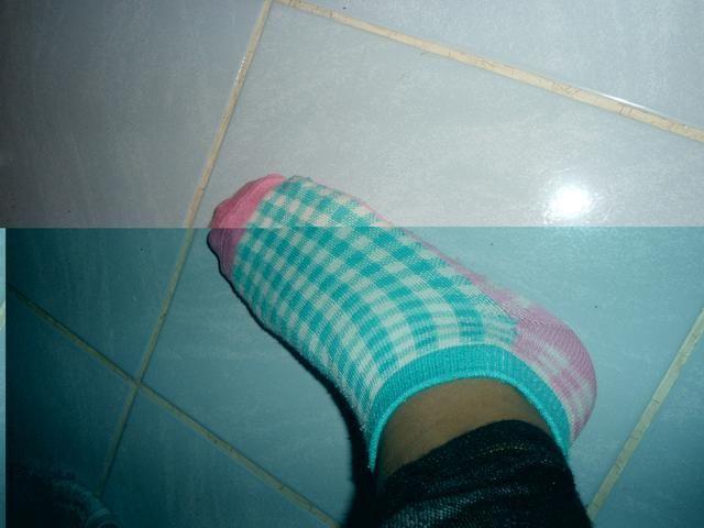 cuando es grasa suficiente u tiene que poner sus calcetines .... como esto ..