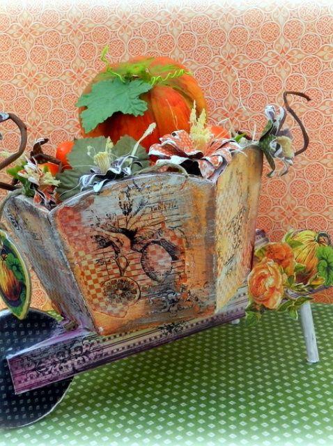 Cómo hacer una decoración de otoño
