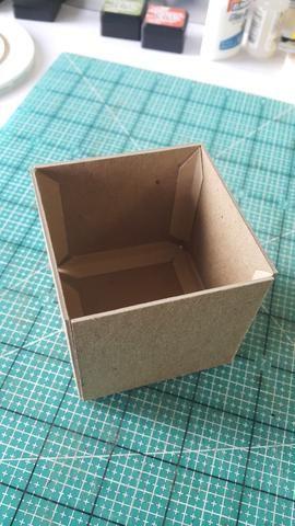 Los últimos elementos principales de este conjunto planificador es la caja de almacenamiento poco,