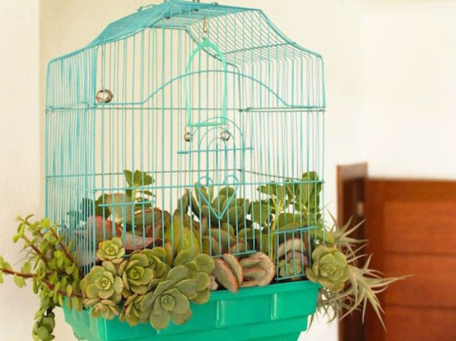 Cómo hacer un Birdcage Planter