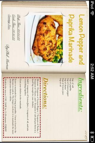 Esta receta es por Phil Morton. Él tiene una guía sobre Snapguide.