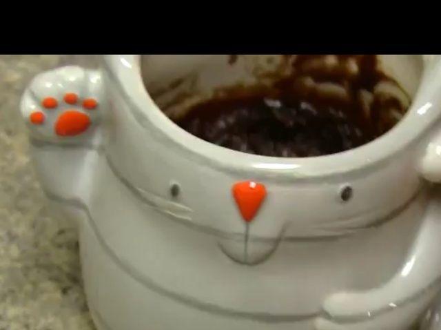 Cómo hacer un Brownie en una taza! Receta