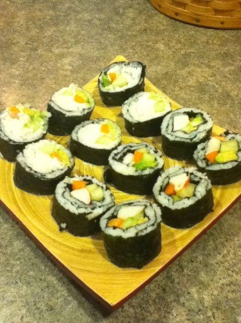 Cómo hacer una California Roll (Sushi) Receta
