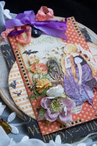 Usted tiene una gran tarjeta bonita mística con secretos! Usted puede añadir a los bolsillos secretos algunas fotos o recuerdos! ¿Cómo divertido jugar con él!