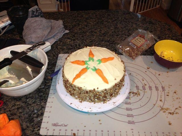 Cómo hacer una receta de pastel de zanahoria