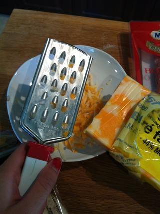 Triture el queso!