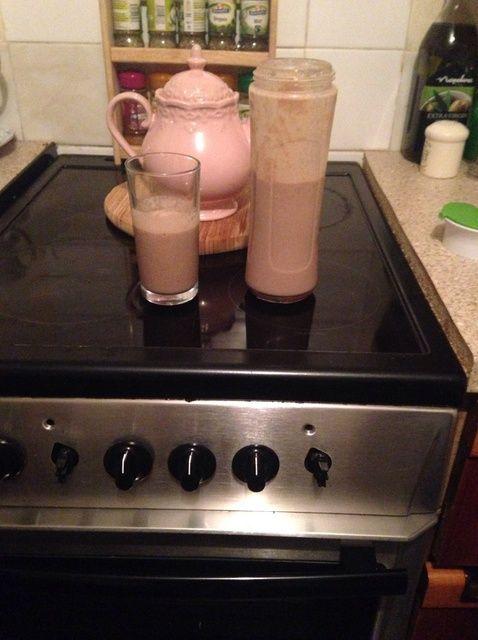 Cómo hacer un chocolate, plátano y Cookie Milkshake ?????? Receta