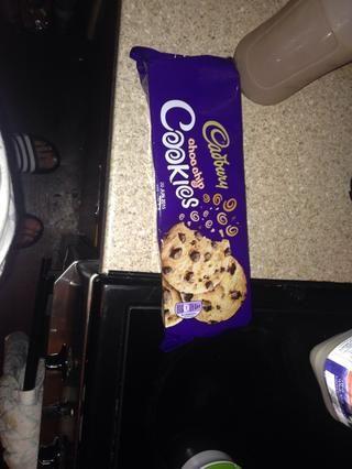 Ahora para las galletas