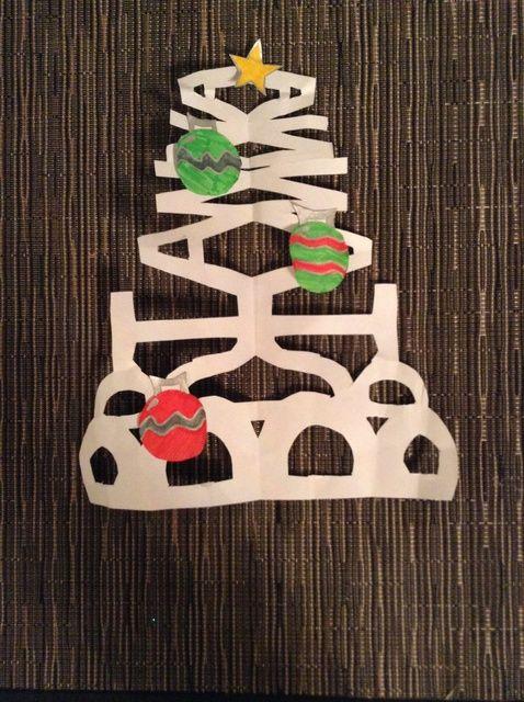 Cómo hacer un árbol de Navidad fuera de su nombre
