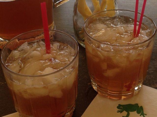 Cómo hacer una receta del cóctel de cítricos Iced Tea