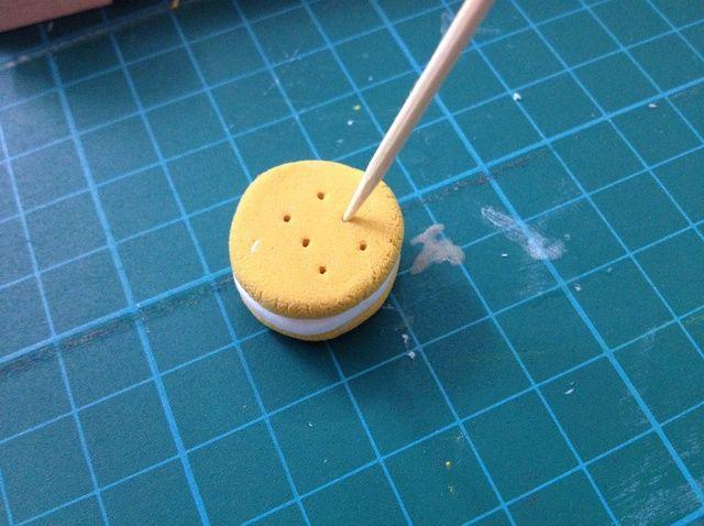Cómo hacer una cookie Sandwich Arcilla