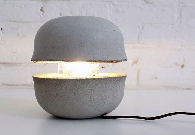 Fotografía - Cómo: Hacer un hormigón Tazón lámpara