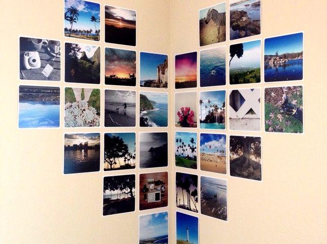 Cómo hacer una pantalla de esquina foto del corazón (Free Prints)