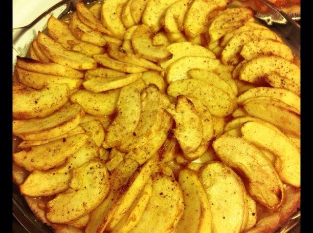 Cómo hacer una Receta Creamy Tarta de Manzana