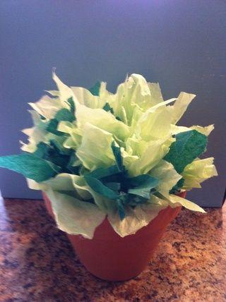 Para más contraste en sus hojas, añadir dos tipos diferentes de tejido Papée
