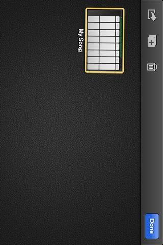 Si bien se moviendo, puntee en el icono Enviar (la que se ve como una caja con una flecha).