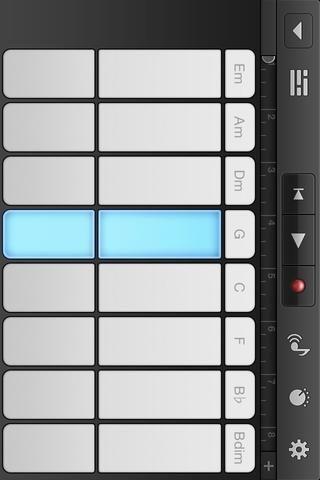 Toque en cualquier sección de una clave para jugar la melodía. He escogido la octava alta y baja''G'' You could mix it up.