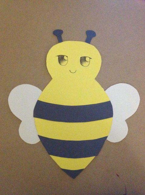 Cómo hacer una tarjeta lindo de la abeja
