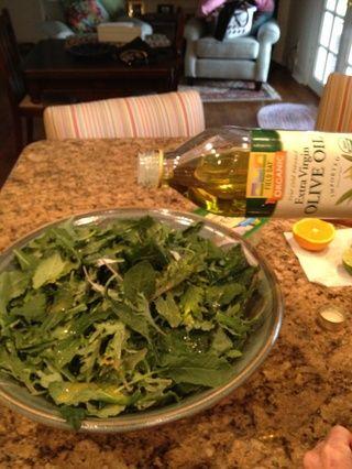 Añadir una segunda chorrito de aceite de oliva virgen extra 3.