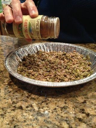 Añadir una pizca de pimienta de cayena (cuidado de no más de hacerlo!)