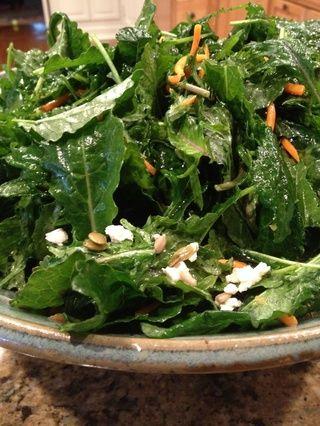 Esta ensalada es super saludable, delicioso, y nutriente lleno! ¡Disfrútala!