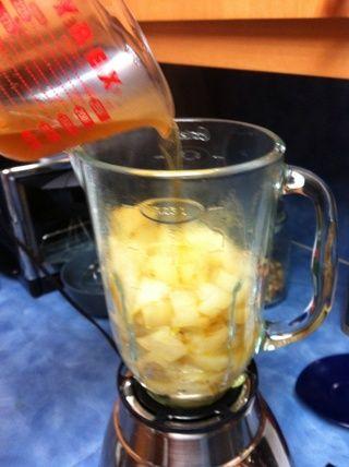 Añadir el vinagre de sidra de manzana. Comience con solamente 1 oz a continuación, añadir al gusto.