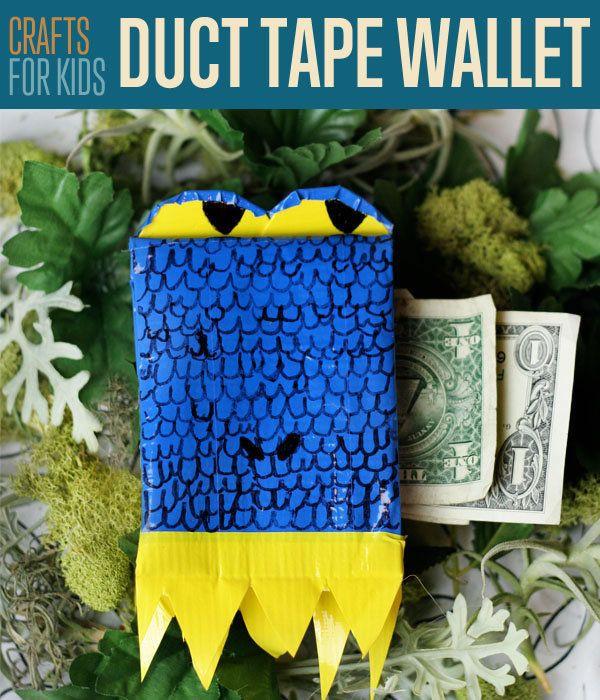Fotografía - Cómo hacer un Monedero Duct Tape | Manualidades bricolaje para los niños