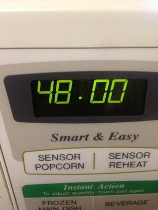 Luego hornear durante unos 48 minutos