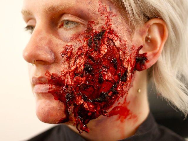 Fotografía - Cómo hacer una herida falsa