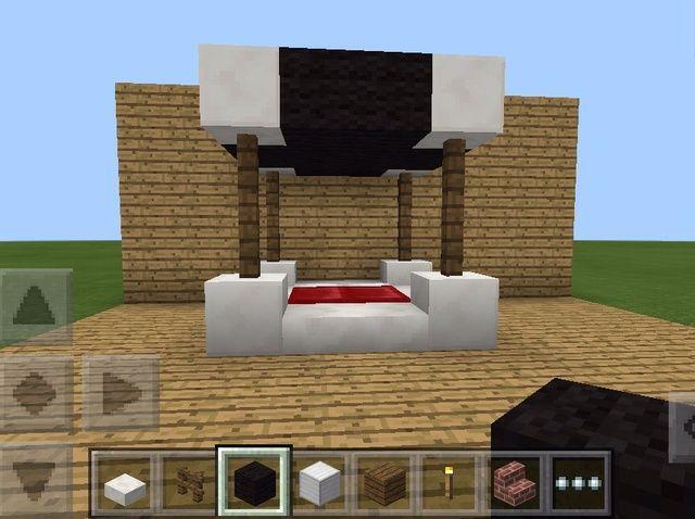 Cómo hacer una cama de lujo en Minecraft