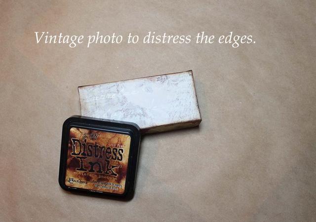 Por supuesto socorro de los bordes. Utilicé la foto del vintage.
