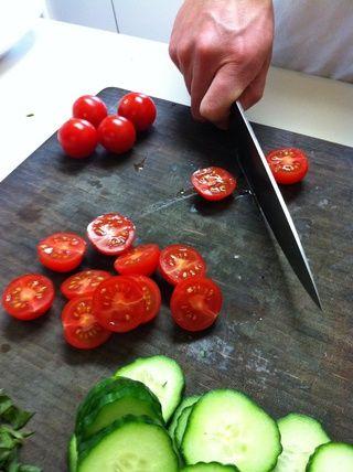 Ahora la mitad de los tomates