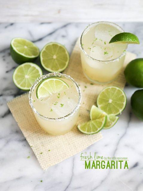Cómo hacer una Receta Fresh Lime Margarita