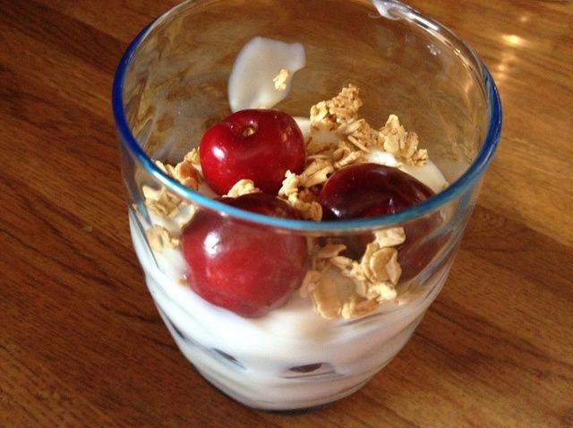 Cómo hacer una Receta Fruit Parfait