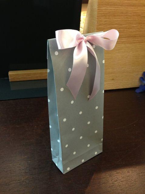 Cómo hacer una bolsa de regalo