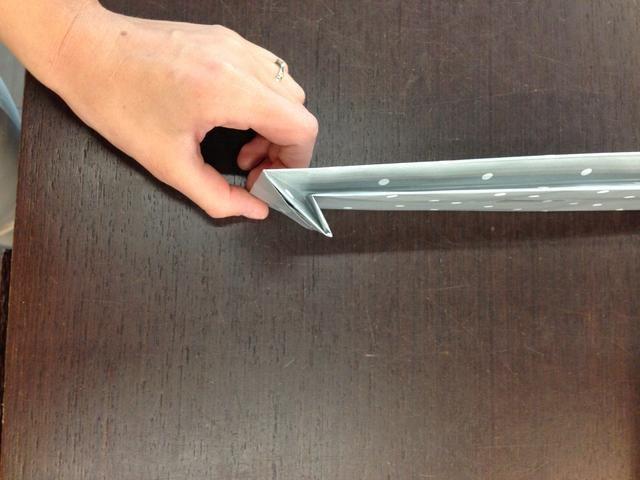 Si desea utilizar otra vez sólo doblar la parte inferior y lo puso en un lugar seguro :)