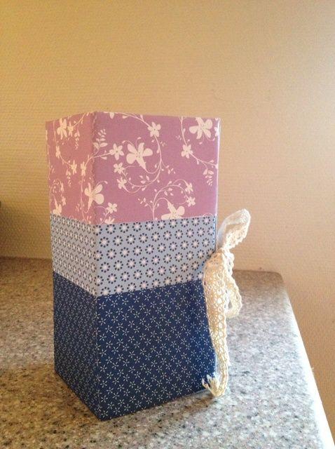 Cómo hacer una caja de regalo