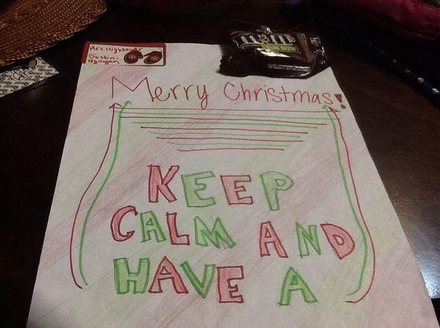 Cómo hacer un regalo para una persona para la Navidad